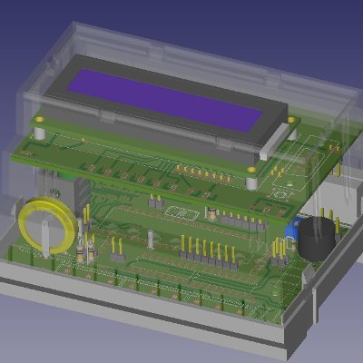 PCB 3D Simulation with KiCad EDA
