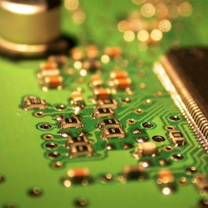 Printed Circuit Board (PCB) Closeup