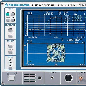 Rohde and Schwarz Spectrum Analyser