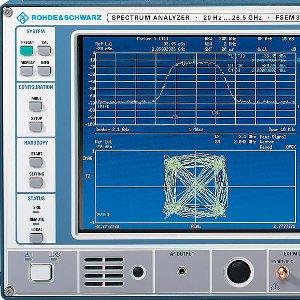 Rohde and Schwarz Spectrum Analyser