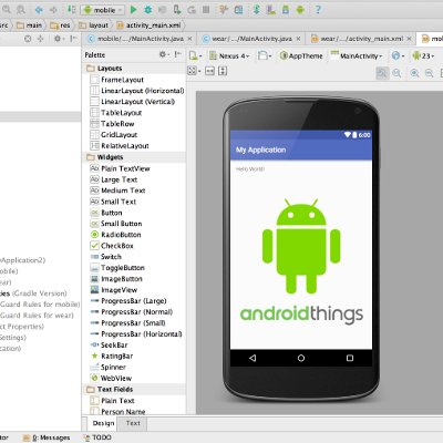 Android Studio and Android Things