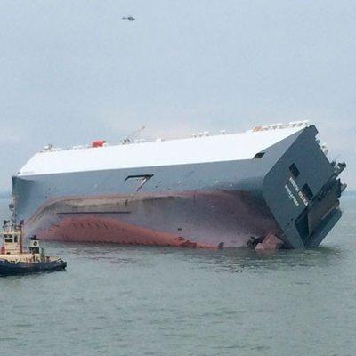 Hoegh Osaka tipped ship