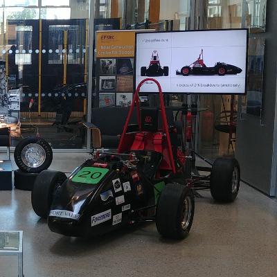 Lancaster Uni E-Racing Car 2019