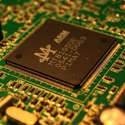 IC on a PCB